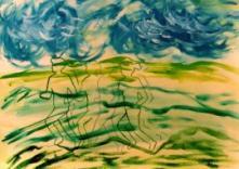 Laufen bei Wind und Wetter (Verena Liebers)